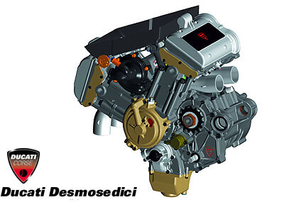 Desmosedici engine
