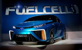 Toyota launch hdrogen fuel cell