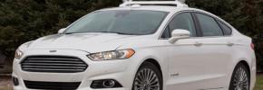 Autonomous Ford Fusion