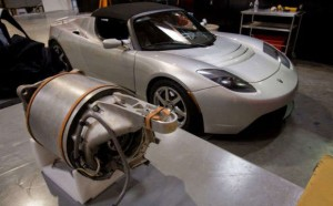 Tesla induction motor